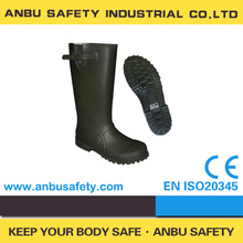 low cost anti-bacterial full rubber 12 inch rain boots wellington