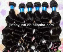 Top Grade Real virgin brazilian hair sticker hair extensions