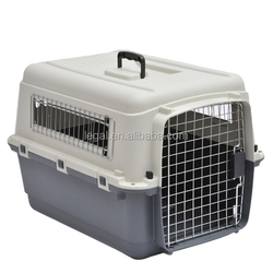 portable folding plastic Dog pet traveler Carrier pet carrier