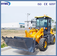 1.6ton ZL16 small wheel loader with CE with attachment optional