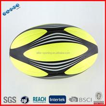 Foam PVC Machine Stitched rugby balls