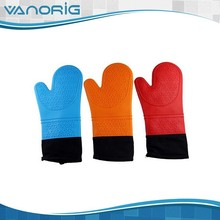 2015 the hot sale heat resistant silicone bbq gloves