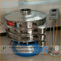 ultrasonic vibrating sieve separator for super-fine powder