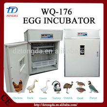 Plastic 2014 quail & duck egg incubator for sale in cebu made in China