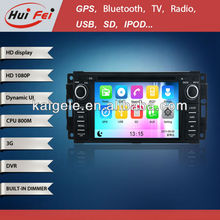 HuiFei HD 1080P for Dodge Ram 1500 Car DVD Player support 3G WiFi iPod iPhone New Interface