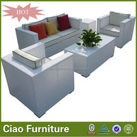 Wholesale customized patio furniture rattan used outdoor sofa