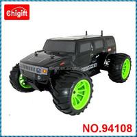 RC Nitro car 1/10 scale 4x4 RC Nitro Monster Truck