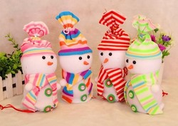 Hot sale fashion new Christmas holiday gifts Blessed Christmas fruit Christmas snowman