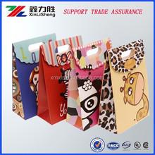 Custom design high end packaging paper gift bag