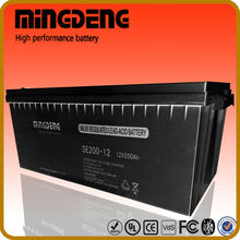 for solar project 200amp 12v lead acid battery flooded ops battery