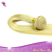 grade 5A top quality malaysan virgin hair 613 color blonde silky straight human hair extensions