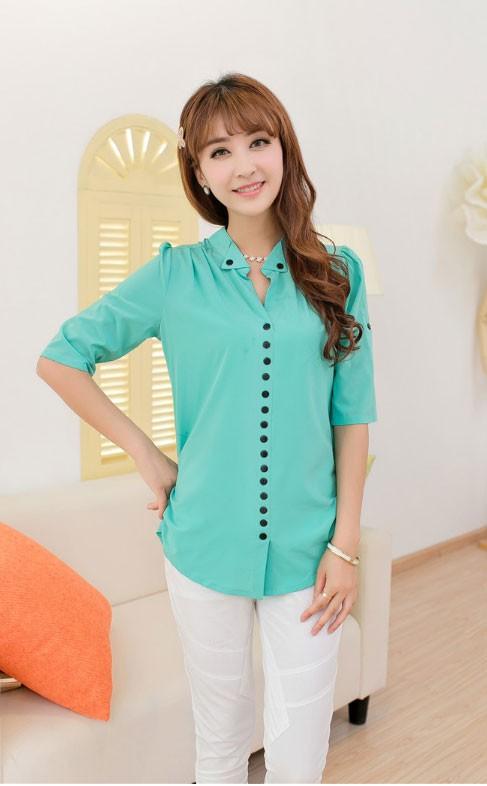 Рубашки И Блузки Из Шифона
