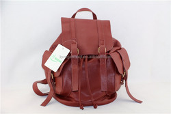 2014 pu wine classic lady's backpack