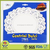 Wedding accessory 21.5cm dining table mat