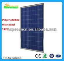 high efficient 10w 20w 50w 100W 200W 250W 300W Poly solar module,250W PV monocrystalline photovoltaic solar module