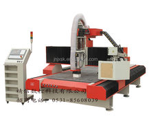 jinan wood cnc router auto tool changer / 3d woodworking machine factory directly sale