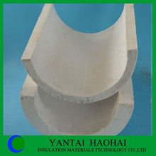 JN series new technology calcium silicate pipe cover fire protection waterproof perfect sanding technology