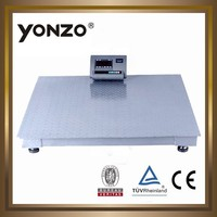 2 ton big floor weighing scale