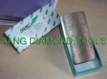 abrasive diamond block 140mm length with 15mm diamond fickert