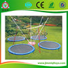 JMQ Trampoline For 4 Person,outdoor bungee jumping trampoline ,mobile bungee trampoline for sales