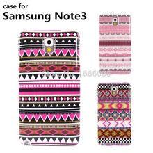 Wholesale New Arrive case for Samsung note 3 cell mobile Phone cases stripe pattern PC hard cover case for Note 3