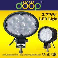 9 LED 27W Flood/Spot Work Light Auxiliary LED Light Car Van ATV Truck Boat SUV JEEP