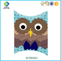 Wholesale Owl Pattern Funny Craft Paper Bag