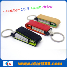 Hot selling leather usb pen drive 2.0 wholesale,leather usb with best price,leather usb flash drive,