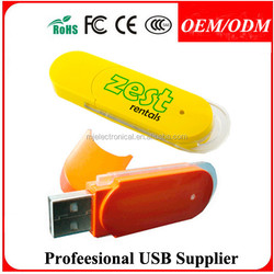 Free Sample , 2015 new plastic mini 2gb usb flash drive