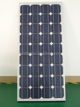 100W Mono solar panel with efficient solar cell