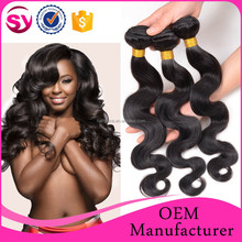 6A virgin Peruvian Human Hair Extension, Virgin Peruvian Hair Weaves Pictures, Raw Unprocessed Virgin Peruvian Hair
