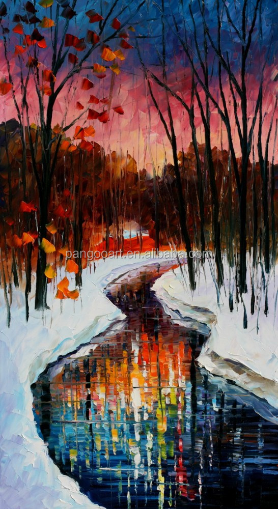 Paintings of Nature Scenes Natural Scenery Painting