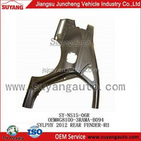 SYLPHY 2012 CAR PROTECTED REAR SIDE PANEL HOT SELLING METAL PARTS