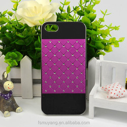 Bulk Wholesale Diamond Case for iphone 5/5S with Back Plated