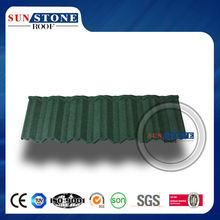 2015 building material colorful Stone Coated Chip Steel Roof Tile