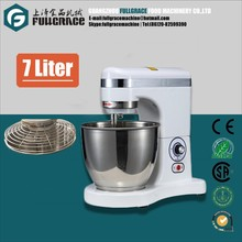 Hot sell home use 7 liter stand mixer stianless steel food mixer Tilt-Head cake mixer with CE