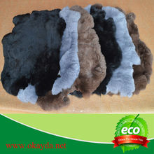 High quality rabbit furs wholesale