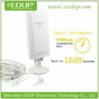 Outdoor high power 150Mbps wireless network card 16dbi wifi antenna high quality chipset Ralink 3070 KW-1507N