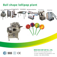 multi-functioned lollipop making machine used confectionery machinery
