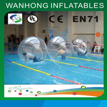 Summer hot sale sport game inflatable water ball walking ball on water