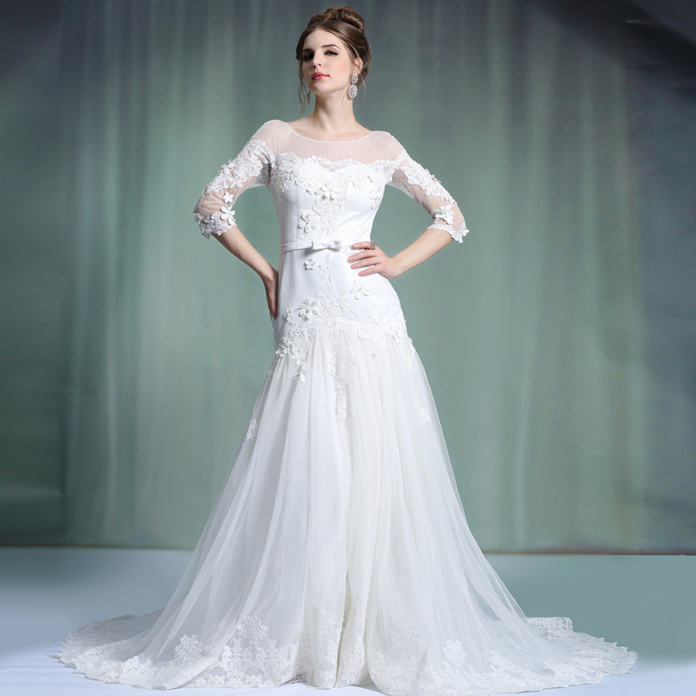 Wedding Dresses Europe High Cut Wedding Dresses