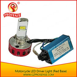 High/ Low Beam Motorcycle LED Driving Light (Red Base)