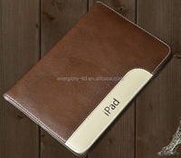 360 Degree Rotate PU Leather Case with belt ( PE Bag ) for ipad