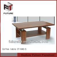 Modern MDF italian style coffee table living room furniture