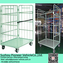 Steel Roll container,roll cage,logistics trolley