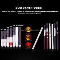 2014 High Quality Bud Touch New Product E Cig China CBD ceramic glass atomizer