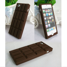 3D Choclate Bar Look Soft Silicone Rubber Case Cover Skin For Vary Mobile Phones