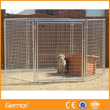 Low price hot dipped galvanized welded wire mesh dog cage