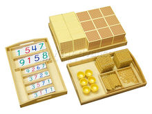 Montessori materials-Complete Golden Bead Material