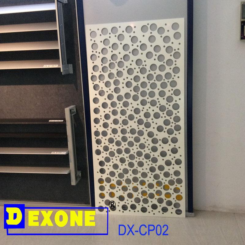 aluminium perfor panneau d coratif pour cran de cl ture et mur mat riaux m talliques de. Black Bedroom Furniture Sets. Home Design Ideas